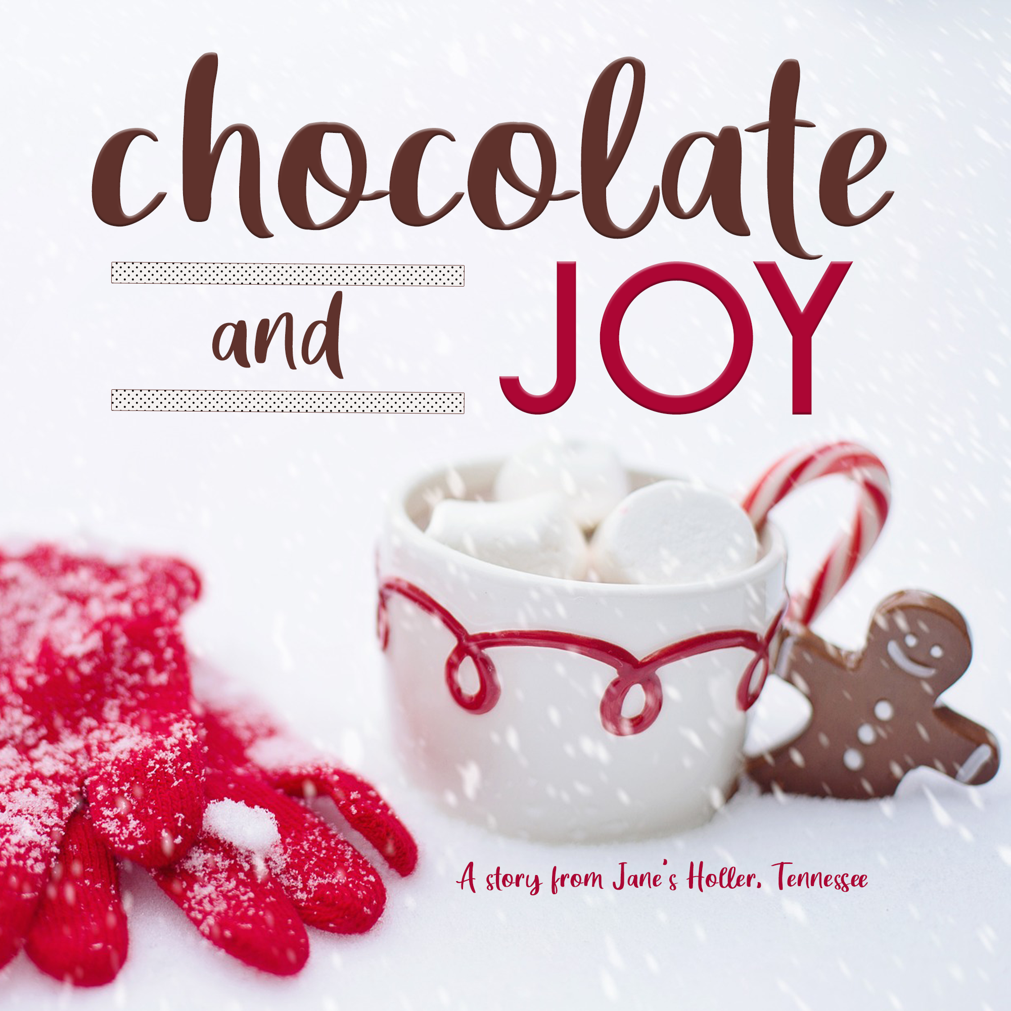 Image Chocolate & Joy Christmas Podcast Cover Art