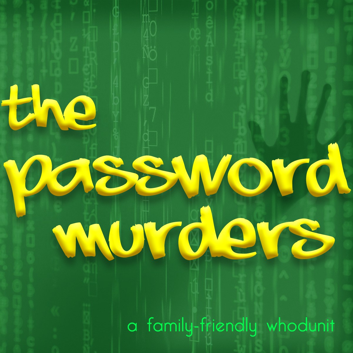 Cover art for the podcast show The Password Murders
